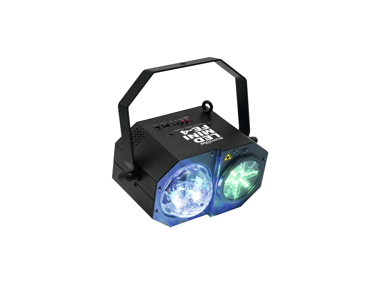 Eurolite LED Mini Flower s Laserem + DO