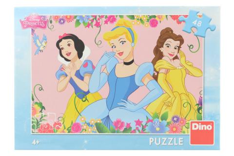 Puzzle Rozkvetlé princezny 48 dílků