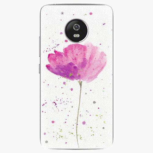 Plastový kryt iSaprio - Poppies - Lenovo Moto G5