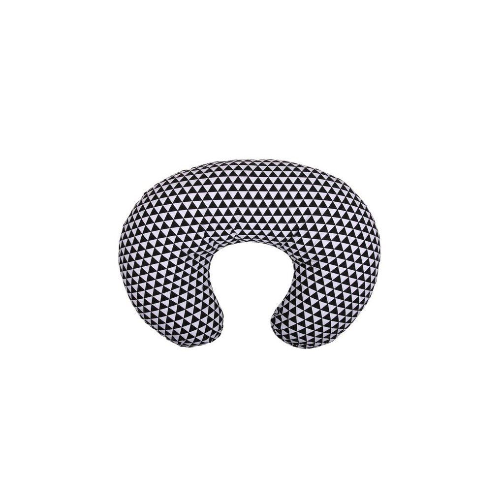 Univerzální kojící polštář Womar černo-bílý - černá