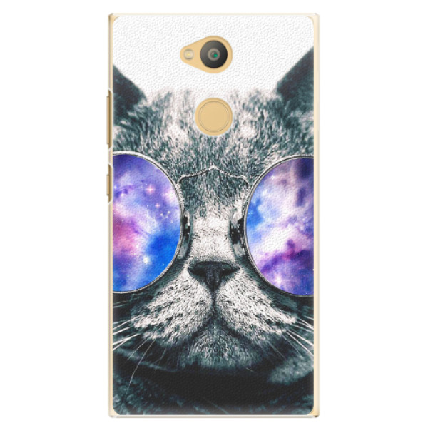 Plastové pouzdro iSaprio - Galaxy Cat - Sony Xperia L2