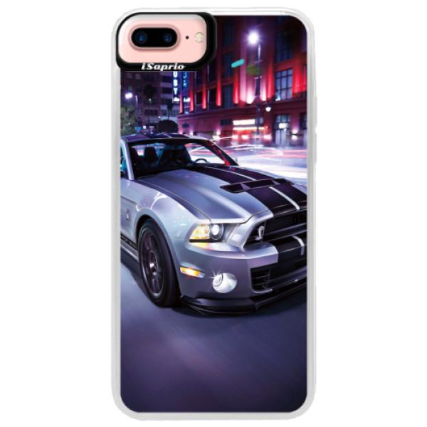 Neonové pouzdro Pink iSaprio - Mustang - iPhone 7 Plus