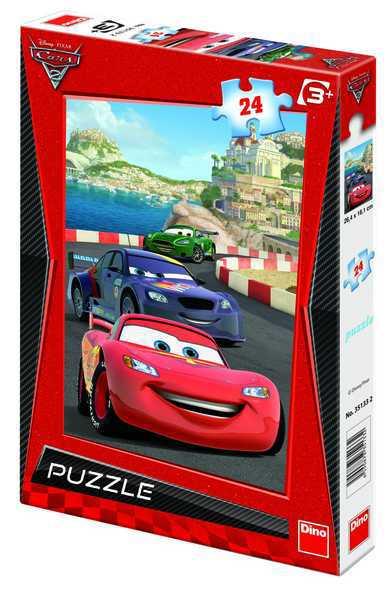 DINO Puzzle CARS 2 RIVIER 24 dílků