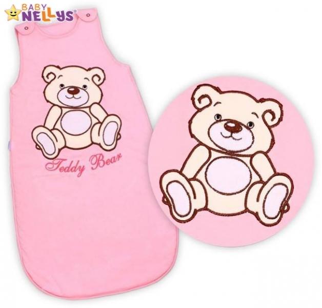 spaci-vak-teddy-bear-baby-nellys-sv-ruzovy-vel-2