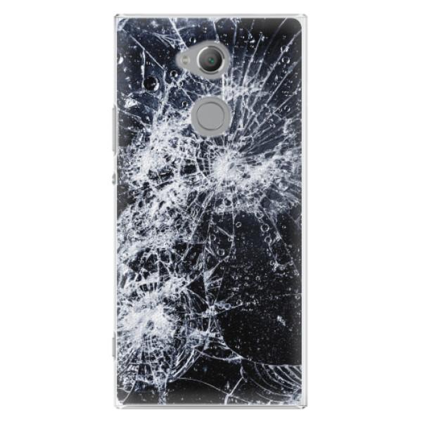 Plastové pouzdro iSaprio - Cracked - Sony Xperia XA2 Ultra