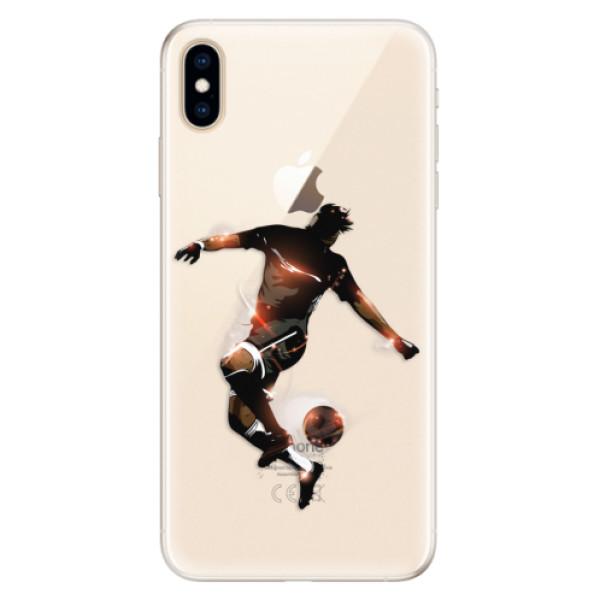 Silikonové pouzdro iSaprio - Fotball 01 - iPhone XS Max