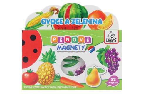Pěnové magnety Ovoce a zelenina