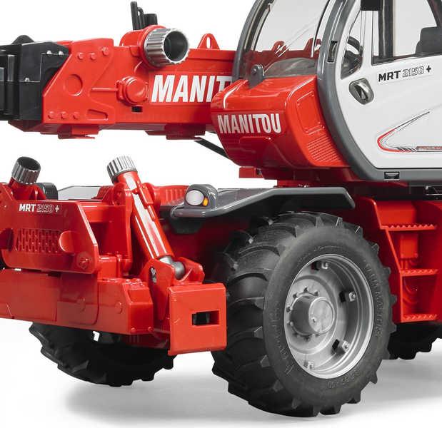 BRUDER 02129 Manipulátor MANITOU MRT 2150