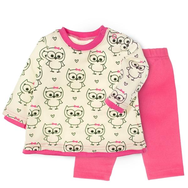 2- dílná sada tričko dl. rukáv + tepláčky - Veselé