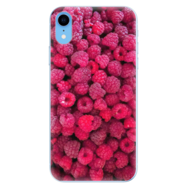 Odolné silikonové pouzdro iSaprio - Raspberry - iPhone XR
