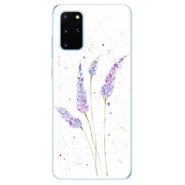 Odolné silikonové pouzdro iSaprio - Lavender - Samsung Galaxy S20+