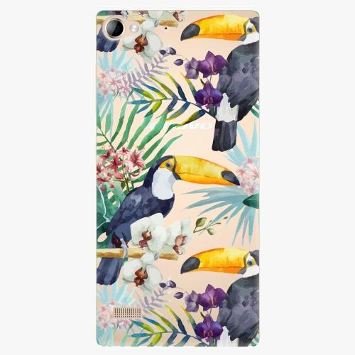 Plastový kryt iSaprio - Tucan Pattern 01 - Lenovo Vibe X2