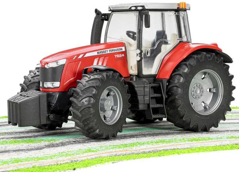 BRUDER 03046 (3046) Traktor MF Massey Ferguson PLAST