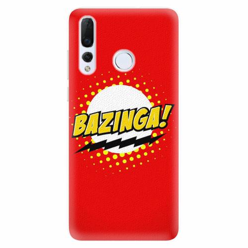 Silikonové pouzdro iSaprio - Bazinga 01 - Huawei Nova 4