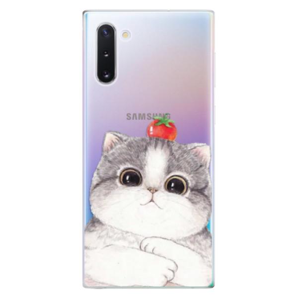 Odolné silikonové pouzdro iSaprio - Cat 03 - Samsung Galaxy Note 10