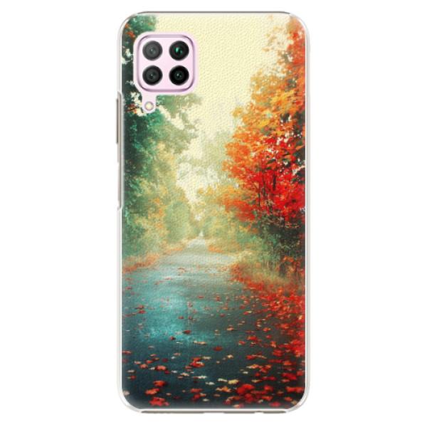 Plastové pouzdro iSaprio - Autumn 03 - Huawei P40 Lite