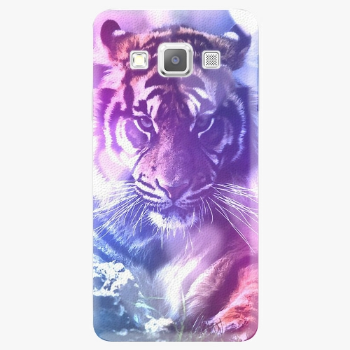 Plastový kryt iSaprio - Purple Tiger - Samsung Galaxy A5