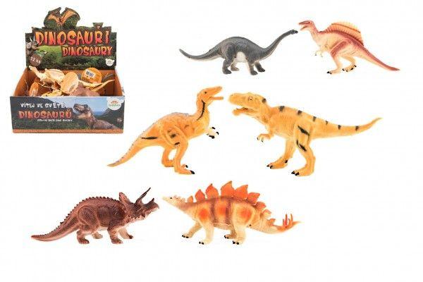 Dinosauři plast 16 až 18 cm mix druhů