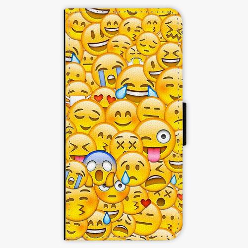Flipové pouzdro iSaprio - Emoji - Samsung Galaxy A3 2017