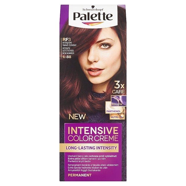 Schwarzkopf Intensive Color Creme barva na vlasy Intenzivní Tmavě Červený RF3 (4-88)