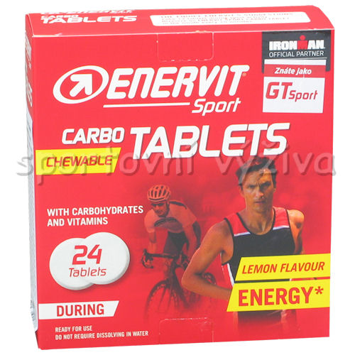 Enervit GT 24 tablet blistr citron