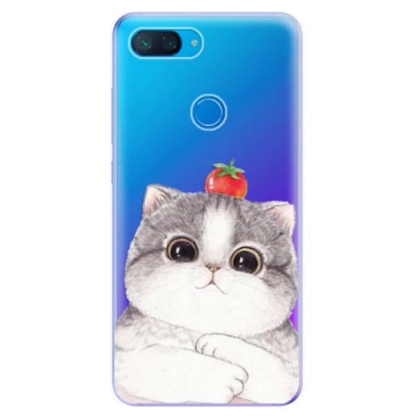 Odolné silikonové pouzdro iSaprio - Cat 03 - Xiaomi Mi 8 Lite
