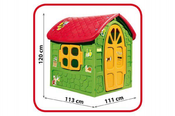 Domeček plastový 111 x 120 x 113 cm