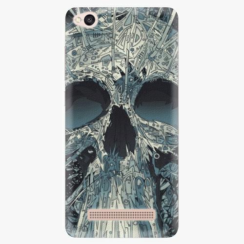 Plastový kryt iSaprio - Abstract Skull - Xiaomi Redmi 4A