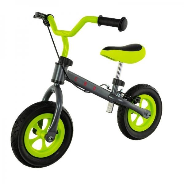 """Euro Baby Dětské odrážedlo, kolo Cool Air Baby - zeleno/šedé, kola 10"""""""