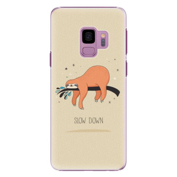 Plastové pouzdro iSaprio - Slow Down - Samsung Galaxy S9