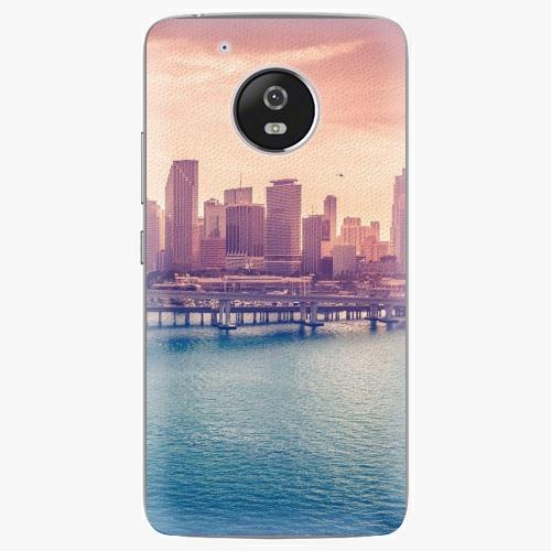 Plastový kryt iSaprio - Morning in a City - Lenovo Moto G5