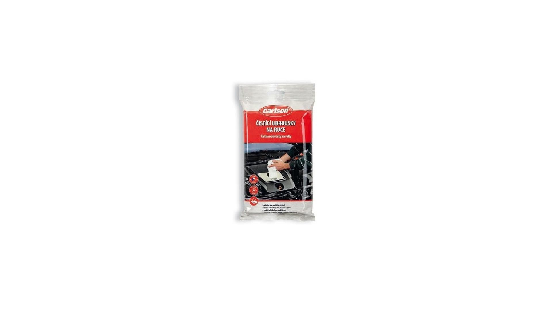 CARLSON čistiace obrousky na ruce 26 ks