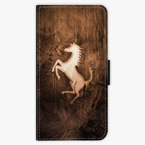 Flipové pouzdro iSaprio - Vintage Horse - Samsung Galaxy J5 2017