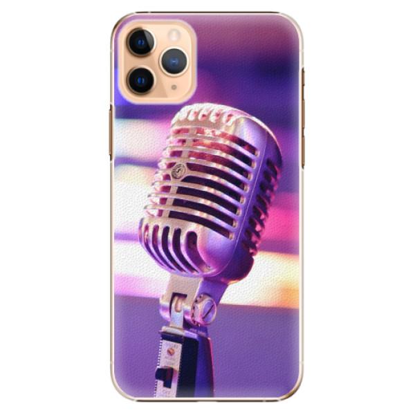 Plastové pouzdro iSaprio - Vintage Microphone - iPhone 11 Pro Max