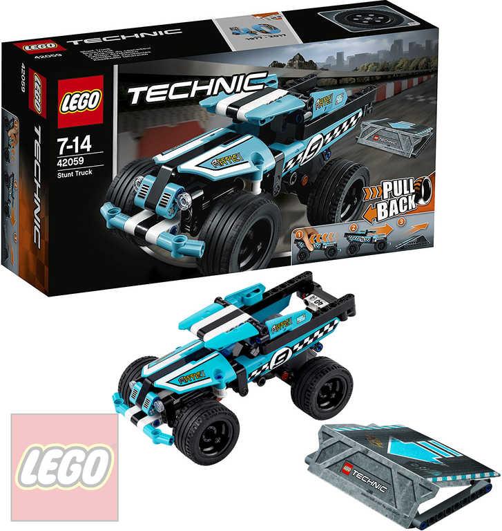 LEGO TECHNIC Náklaďák pro kaskadéry 42059 STAVEBNICE