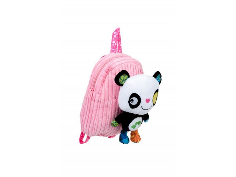 Discovery baby - Batůžek do školky s hračkou Panda