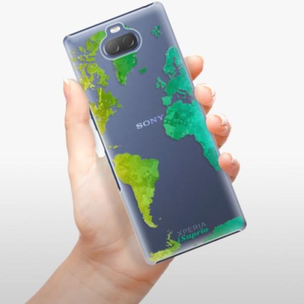 Plastové pouzdro iSaprio - Cold Map - Sony Xperia 10