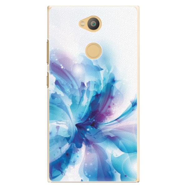 Plastové pouzdro iSaprio - Abstract Flower - Sony Xperia L2