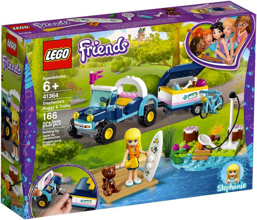 LEGO FRIENDS Stephanie a bugina s přívěsem 41364 STAVEBNICE