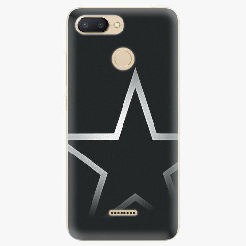 Silikonové pouzdro iSaprio - Star - Xiaomi Redmi 6