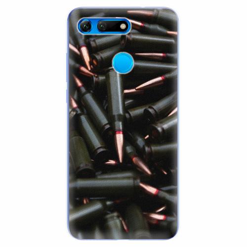 Silikonové pouzdro iSaprio - Black Bullet - Huawei Honor View 20