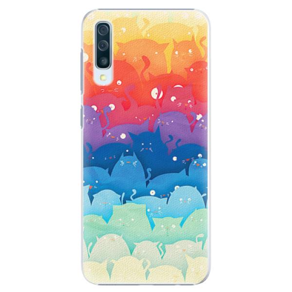 Plastové pouzdro iSaprio - Cats World - Samsung Galaxy A50