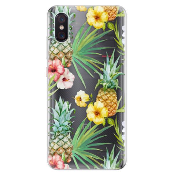 Odolné silikonové pouzdro iSaprio - Pineapple Pattern 02 - Xiaomi Mi 8 Pro