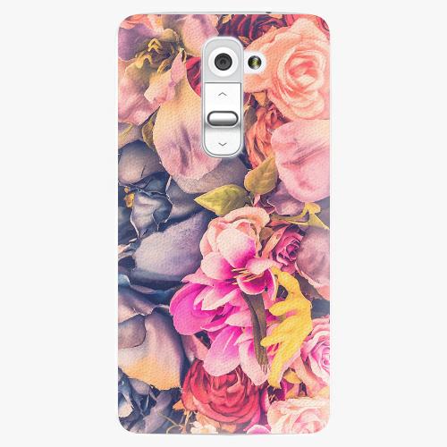 Plastový kryt iSaprio - Beauty Flowers - LG G2 (D802B)