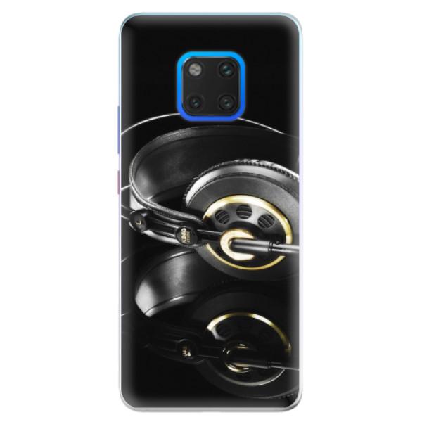Silikonové pouzdro iSaprio - Headphones 02 - Huawei Mate 20 Pro