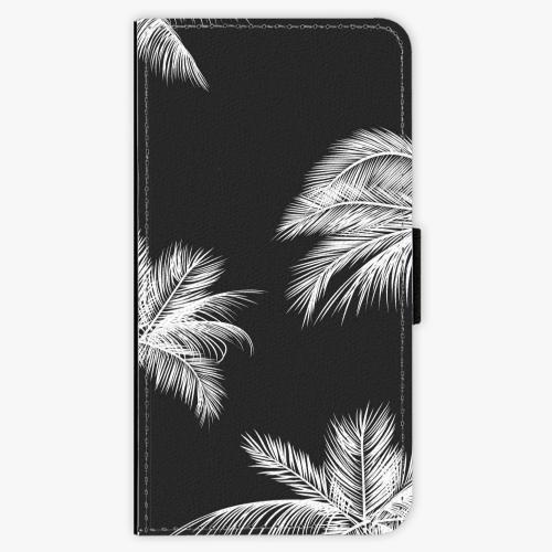 Flipové pouzdro iSaprio - White Palm - Samsung Galaxy J7 2016