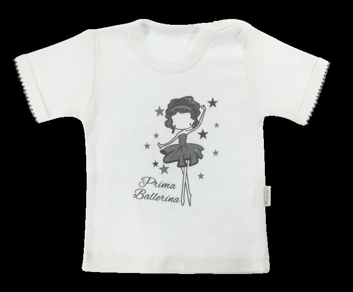 Bavlněné tričko Mamatti Baletka krátký rukáv