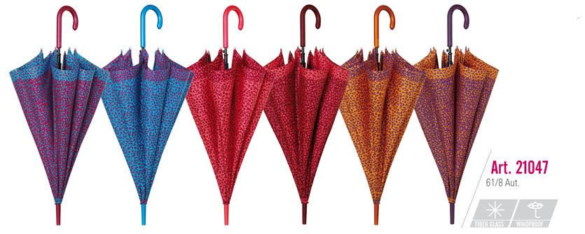 Dámský deštník GP 21047 - Perletti - Fialová