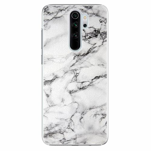 Plastový kryt iSaprio - White Marble 01 - Xiaomi Redmi Note 8 Pro