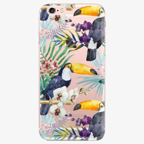 Silikonové pouzdro iSaprio - Tucan Pattern 01 - iPhone 7
